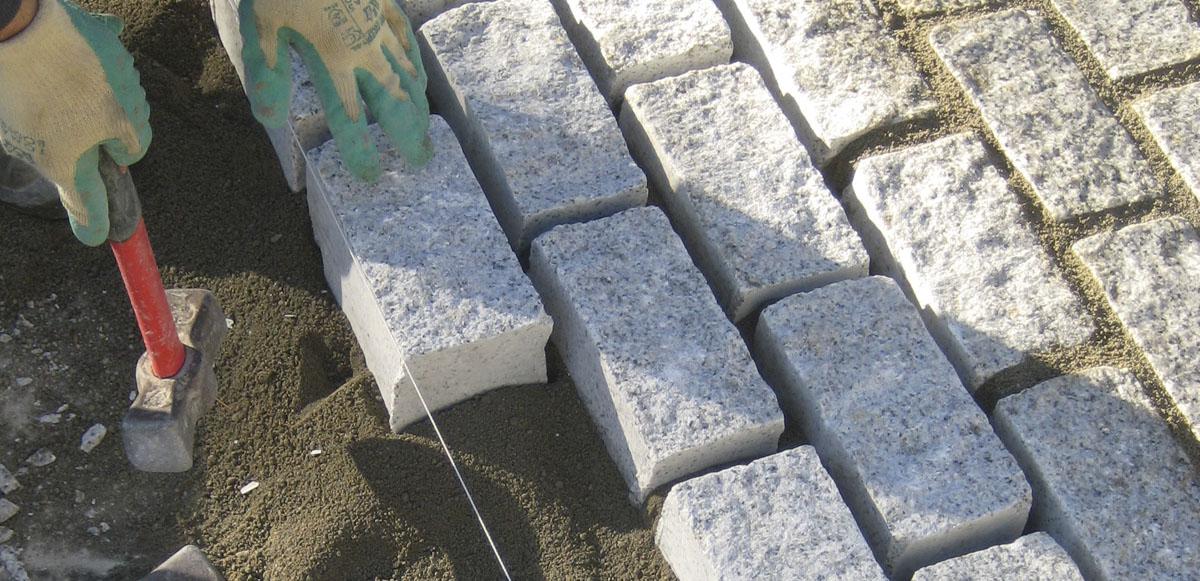 Piedra adoquines for Adoquines de granito