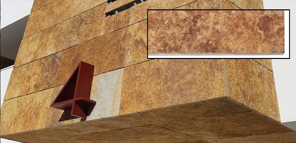 cuarcita Oro Jbernardos piedra para fachadas materiales para fachadas ventiladas fachada ventilada piedra