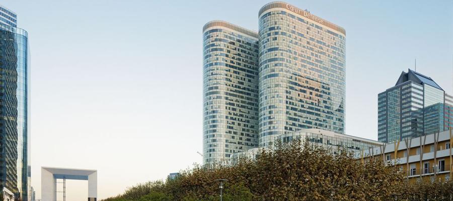 rehabilitación torres coeur defense de París